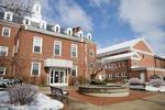 Snowy Rear Shot - Admin Building and Estes Chapel