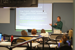 Dr. Chris Kiesling in the Classroom