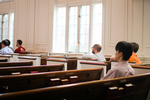 Students in Estes Chapel - Rear Section