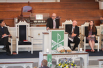 Dr. David Bauer Speaking in Chapel - Balcony Shot