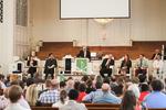 Dr. David Bauer Speaking in Chapel