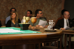 Fletcher Chapel Table Set for Daily Eucharist