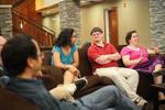 Students Talking in Gallaway Village - 7