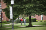 Two Male Students Talking on the Kentucky Campus - 2