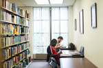 Two Male Students Studying in the Library - 3