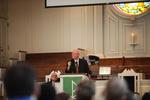 Dr. Bob Stamps Preaching in Estes Chapel
