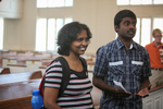 Rajamani Thangam and Ebi Peter in Estes Chapel