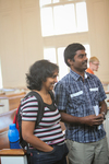 Rajamani Thangam and Ebi Peter in Estes Chapel - 2