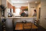 Jonas and Jessica Hamilton in Their Kitchen