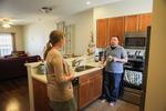 Jonas and Jessica Hamilton in Their Kitchen - 4