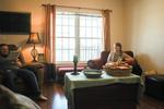Jonas and Jessica Hamilton in Their Living Room - 2