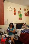Mel Howard Studying in Gallaway Village - 5