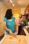 Mel Howard and Keturah Chisholm in the Kitchen - 7