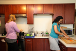 Mel Howard and Keturah Chisholm in the Kitchen - 9