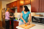 Mel Howard and Keturah Chisholm in the Kitchen - 10