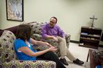 Emily Harris and Dr. Javier Sierra Talking
