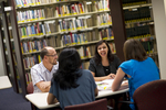 Staff Talking in the Orlando Library - 5