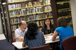 Staff Talking in the Orlando Library - 6