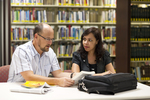 Dan McKinley and Keyla Gonzalez in the Orlando Library - 3
