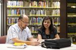 Dan McKinley and Keyla Gonzalez in the Orlando Library - 4