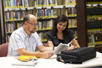 Dan McKinley and Keyla Gonzalez in the Orlando Library - 5