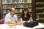 Dan McKinley and Keyla Gonzalez in the Orlando Library - 6