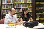 Dan McKinley and Keyla Gonzalez in the Orlando Library - 6