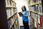Emily Harris in the Orlando Library - 3