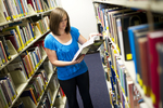 Emily Harris in the Orlando Library - 10