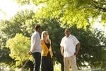 Three Orlando Students Outdoors - 7