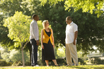 Three Orlando Students Outdoors - 13