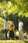 Three Orlando Students Outdoors - 21