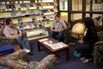 Students Talking in the Orlando Library