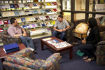 Students Talking in the Orlando Library - 3