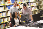 Students Using the Computer in the Orlando Library