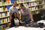 Students Using the Computer in the Orlando Library - 2