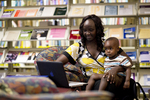 A Mother and Child in the Orlando Library - 4