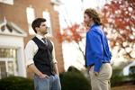 Luke McKeel and John Crosland in the Fall Leaves - 4