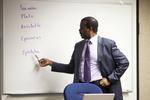 Dr. Joseph Okello Lecturing