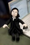John Wesley Doll in Class