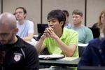 A Male Orlando Student in Class - 27