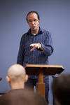 Dr. Brian Russell Lecturing - 2