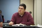 A Male Orlando Student in Class - 51