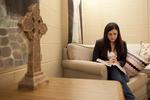 Joy Ames Praying in AHOP