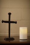 A Cross and Candle in AHOP