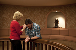 Peg Hutchins and Kyle Mullett Praying in Fletcher - 2
