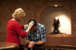 Peg Hutchins and Kyle Mullett Praying in Fletcher - 9