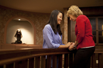 Hannah Mun and Peg Hutchins Praying in Fletcher - 13