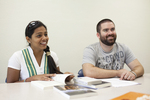 Arpita Eusebius and Trevor Johnston in a Meeting - 2