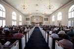 Estes Chapel Service - Aisle Shot